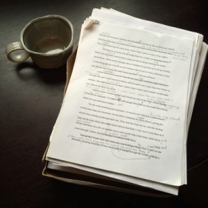 novel manuscript